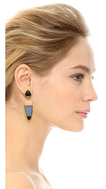 Lizzie Fortunato Lola Stripe Earrings