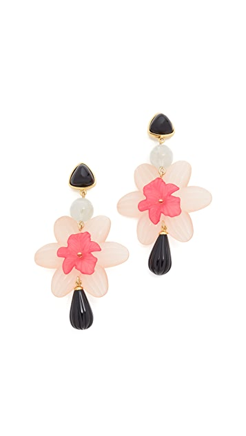 Lizzie Fortunato Mariposa Earrings