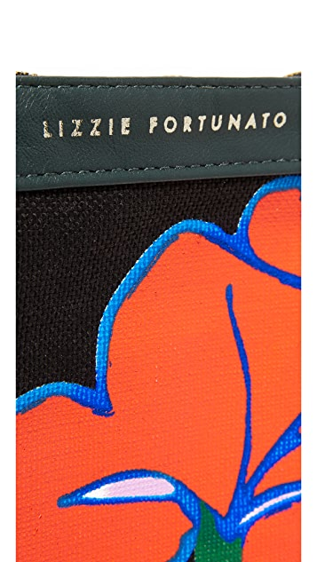 Lizzie Fortunato Gingko Leaves Pouch