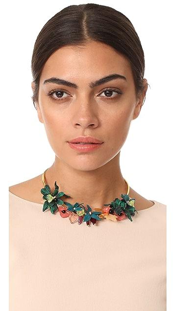 Lizzie Fortunato Vietnam Garden Collar Necklace