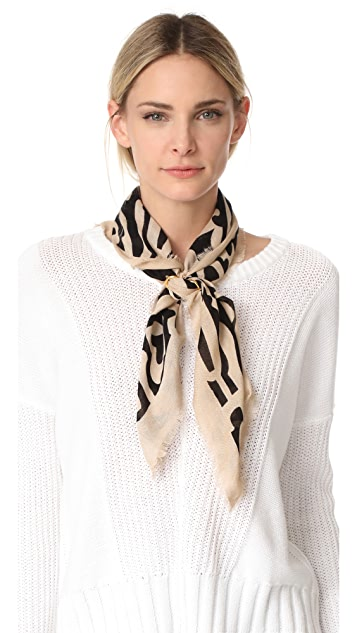 Lizzie Fortunato Groovy Floral Scarf with Slider