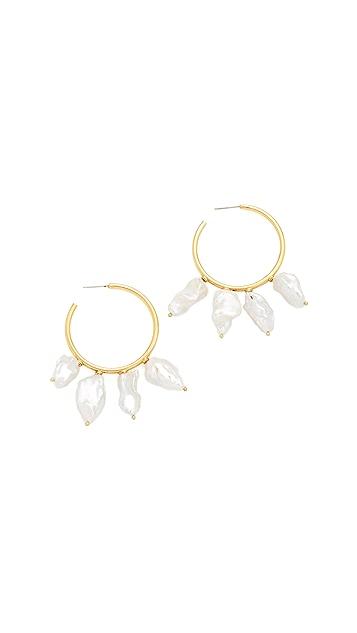 Lizzie Fortunato Keshi Cool Hoop Earrings