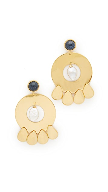Lizzie Fortunato Golden Hour Earrings