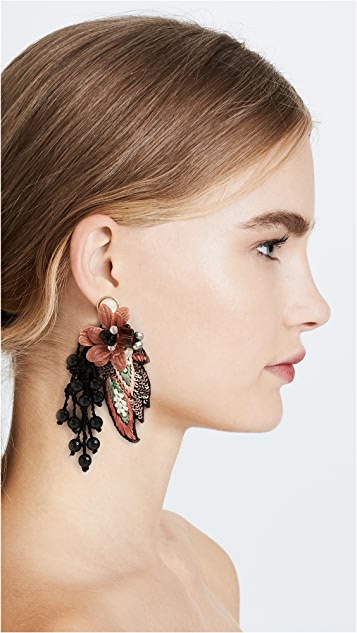 Lizzie Fortunato Royal Earrings