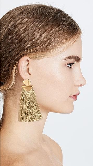 Lizzie Fortunato Metallic Crater Earrings