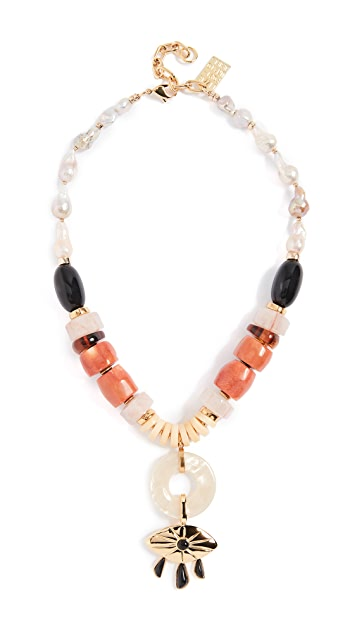 Lizzie Fortunato Capri Necklace