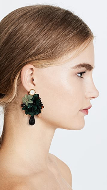 Lizzie Fortunato Rosa Earrings