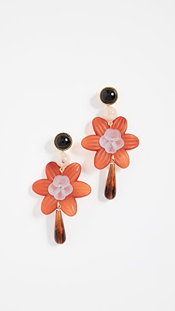 Lizzie Fortunato Sal Flower Earrings - Multi