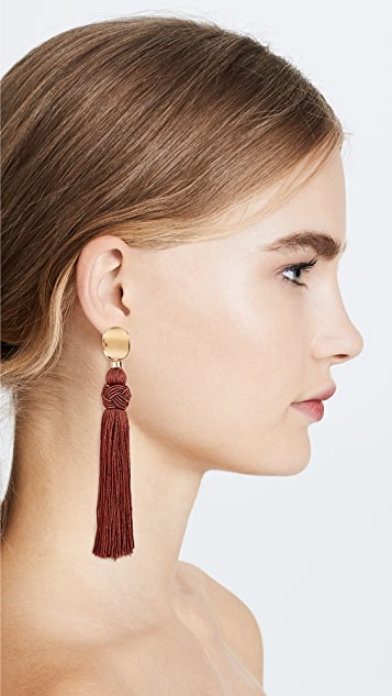 Lizzie Fortunato Sienna Luxe Tassel Earrings