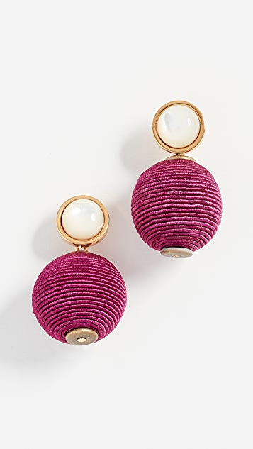 Lizzie Fortunato Mara Pink Earrings IyGsVuu
