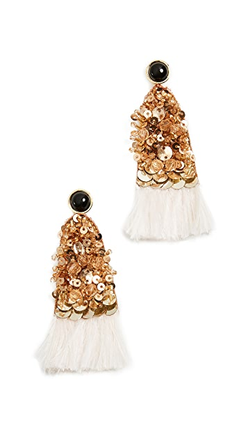 Lizzie Fortunato Cotton Candy Earrings