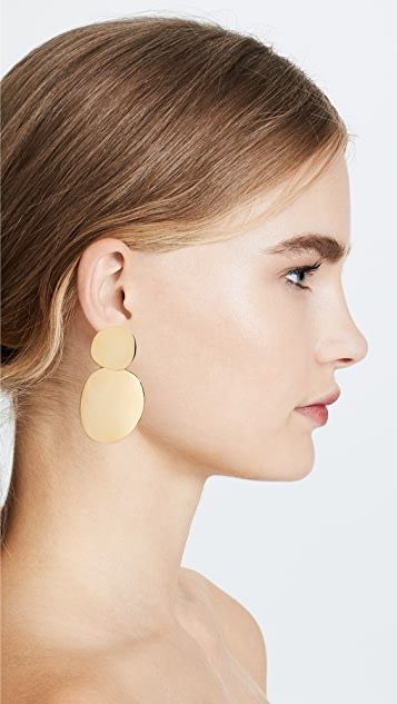 Lizzie Fortunato Disco Earrings