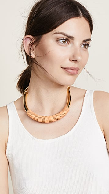 Lizzie Fortunato Saddle Necklace