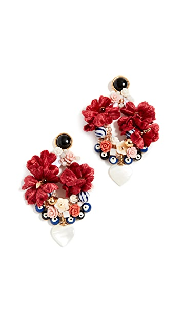 Lizzie Fortunato Gardenia Earrings