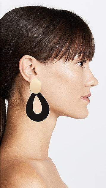 Lizzie Fortunato Midnight Teardrop Earrings