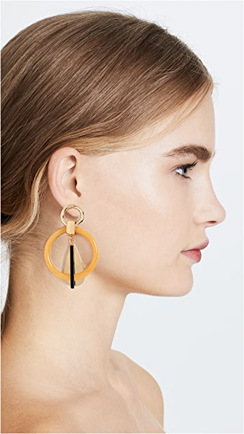 Lizzie Fortunato Amber Modern Earrings
