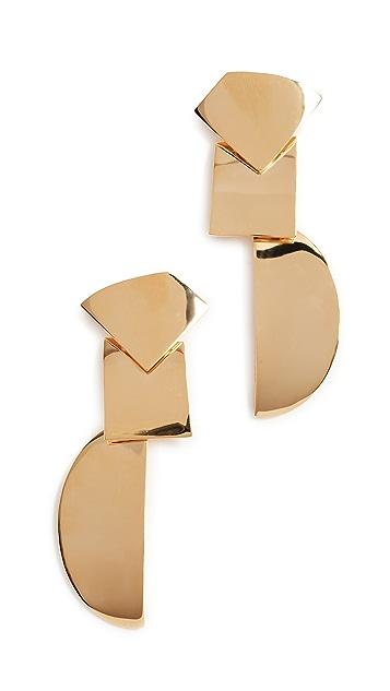 Lizzie Fortunato Paper Moon Earrings