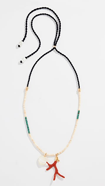 Lizzie Fortunato Simple Reef Charm Necklace