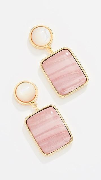 Lizzie Fortunato Pink Fresco Earrings