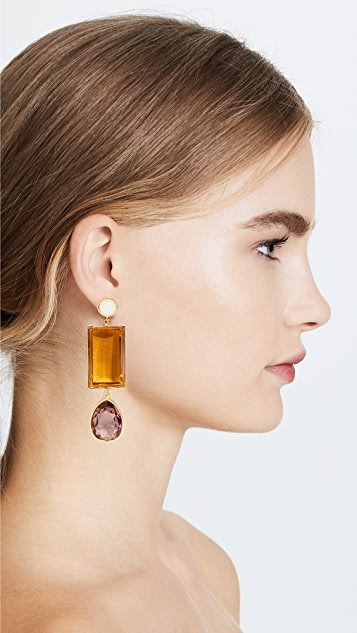 Lizzie Fortunato Amber Earrings