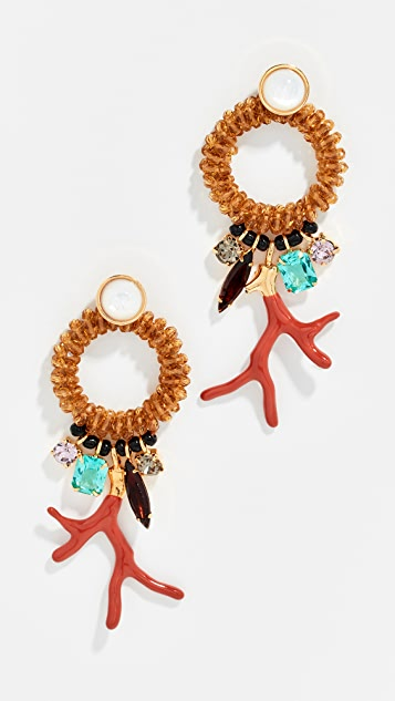 Lizzie Fortunato Ornament Earrings