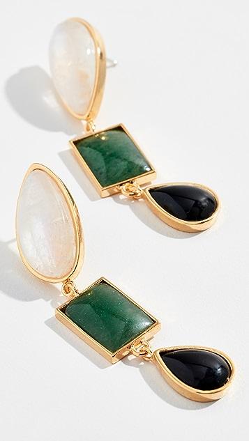 Lizzie Fortunato Color Field Earrings