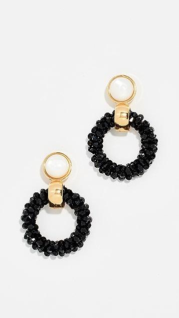 Lizzie Fortunato Brancusi Hoop Earrings