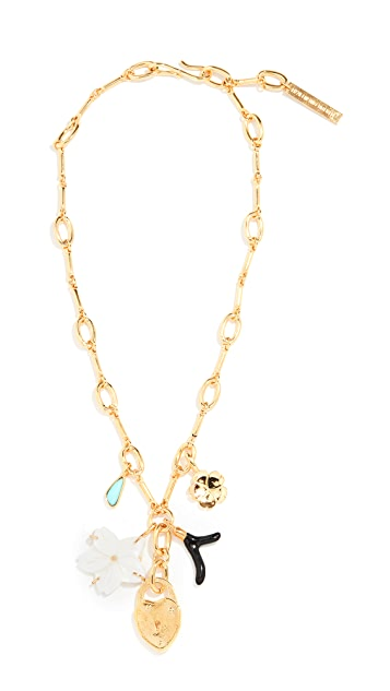 Lizzie Fortunato Fiamma Necklace