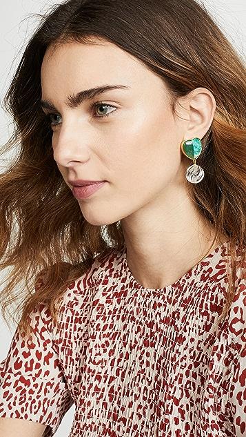Lizzie Fortunato Tide Pool Earrings