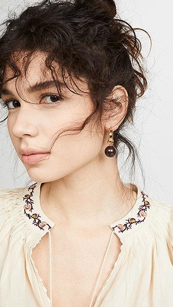 Lizzie Fortunato 虎眼圈式耳环