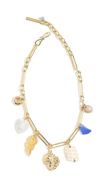 Lizzie Fortunato Paradise Charm Necklace