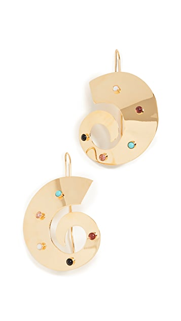 Lizzie Fortunato Orion Earrings