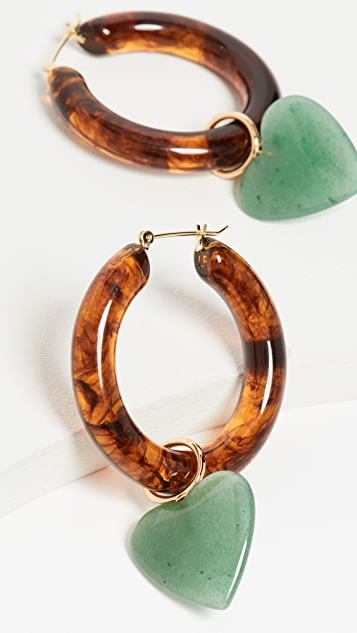 Lizzie Fortunato La Playa Hoop Earrings