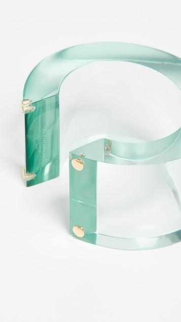 Lizzie Fortunato Postmodern Cuff Bracelet