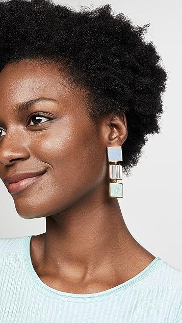 Lizzie Fortunato Trease Island Earrings
