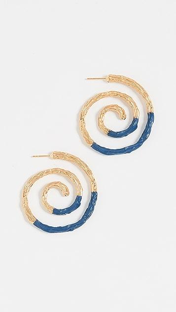 Lizzie Fortunato Spiral Earrings