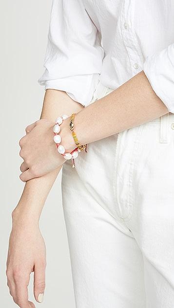 Lizzie Fortunato Pebble Bracelet