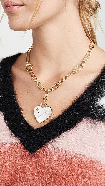 Lizzie Fortunato Venice Heart Necklace