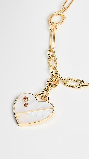 Lizzie Fortunato Venice 心形饰物项链