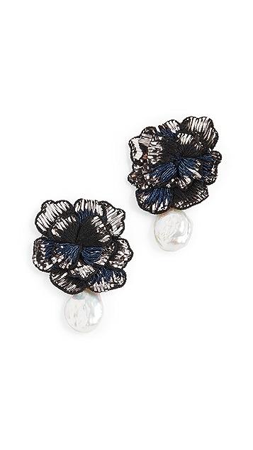 Lizzie Fortunato Cosmic Flower Earrings