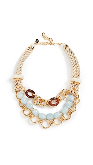 Lizzie Fortunato Marbella Necklace