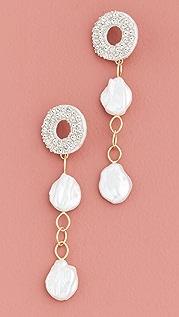 Lizzie Fortunato Chateau Pearl Earrings