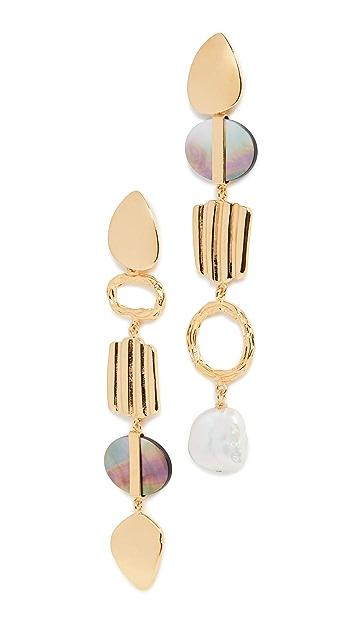 Lizzie Fortunato Treasure Hunt Earrings