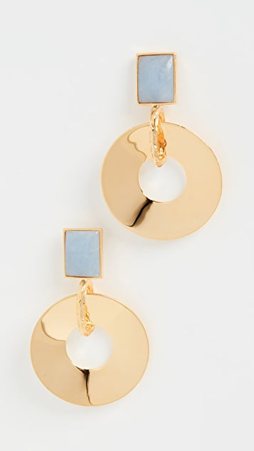 Lizzie Fortunato Promenade Hour Earrings