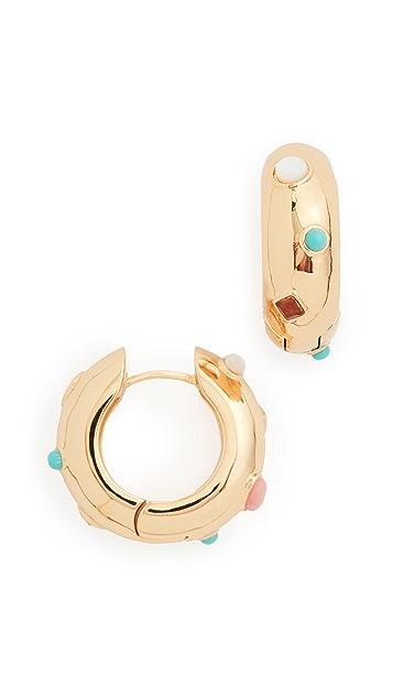 Lizzie Fortunato La Bomba 圈式耳环
