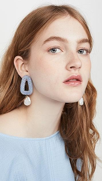 Lizzie Fortunato Blue Oasis Earrings