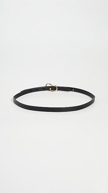 Lizzie Fortunato Skinny Georgia Belt in Black