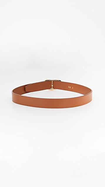 Lizzie Fortunato Wide Georgia Belt in Tan