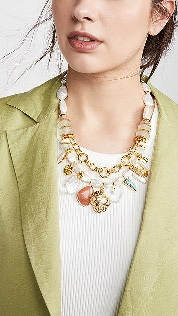 Lizzie Fortunato Seascape Necklace