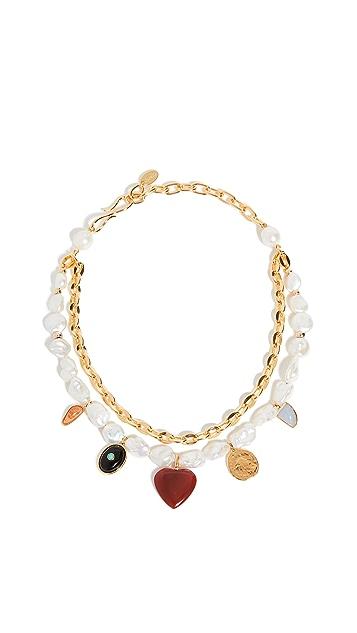 Lizzie Fortunato Tarot Garden Necklace